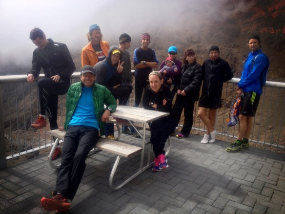 Running Group with Jono Wyatt and others