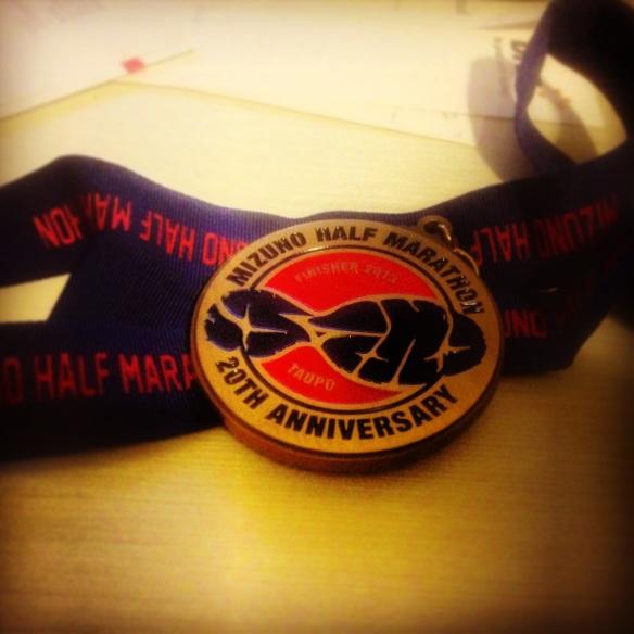 Taupo Half Marathon Medal