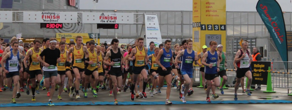Wellington Half Marathon Start